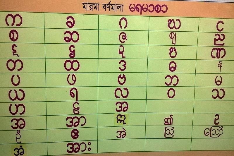 Marma Language
