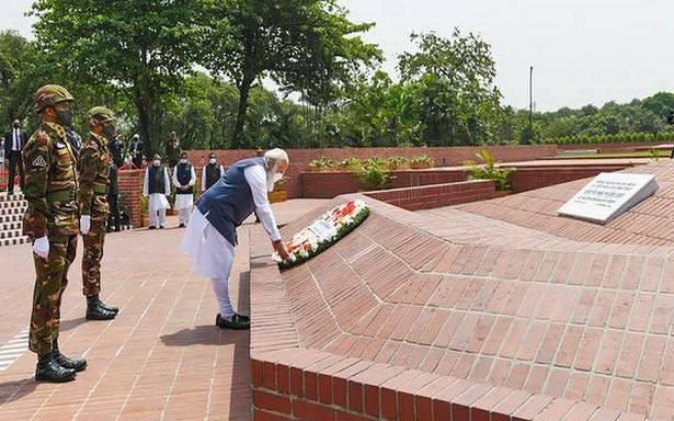 India, Bangladesh must fight terror together: Modi